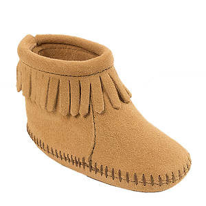 Minnetonka Back Flap Bootie (Kids Infant-Toddler)