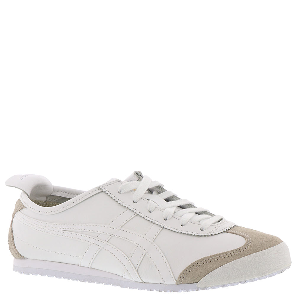 new concept 8cfc4 365bc Asics Onitsuka Tiger Mexico 66 Dl408-0101 White Leather Casual Shoes ...