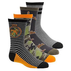 Stride Rite Boys' 4-Pack Cody Crew Socks
