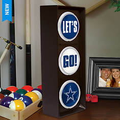 NFL Flashing Let's Go Light by Memory Company - Opened Item