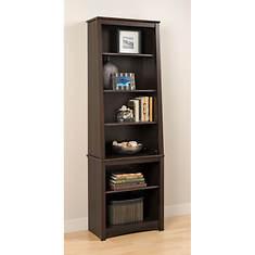 Tall Slant-Back Bookcase