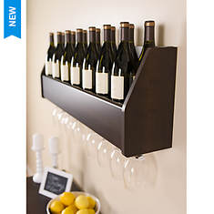 Floating Wine Rack - Opened Item