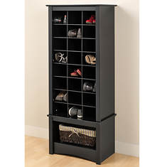Tall Shoe Cubbie Cabinet