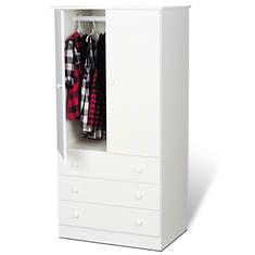 Edenvale 3-Drawer Wardrobe