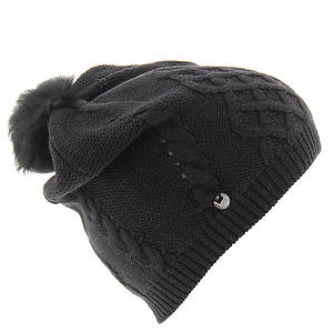 UGG® Isla Lurex Beanie with Fur Pom (Women's)