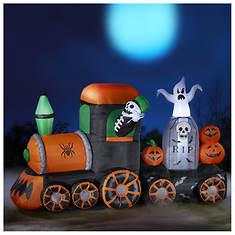 7' Inflatable Halloween Train