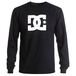 DC Men's Star Long Sleeve Tee