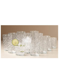 Gibson 16-Piece Bubbles Glassware Set