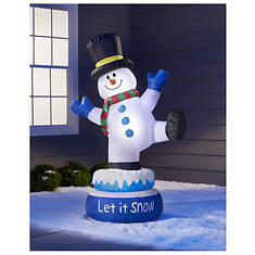 5' Inflatable Dancing Snowman
