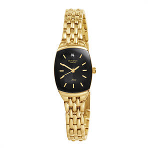 Armitron Women's Diamond Dial Gold Tone Bracelet Watch