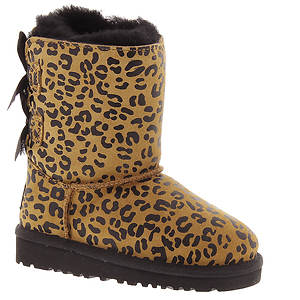 UGG® Bailey Bow Leopard (Girls' Toddler)
