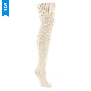 UGG® Classic Cable Knit Socks (Women's)