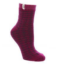 UGG® Houndstooth Fleece-Lined Socks (Women's)