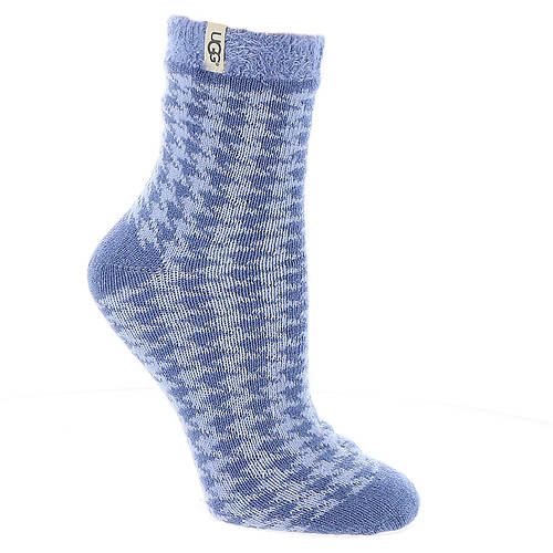 UGG® Houndstooth Fleece-Lined Socks (Women's)