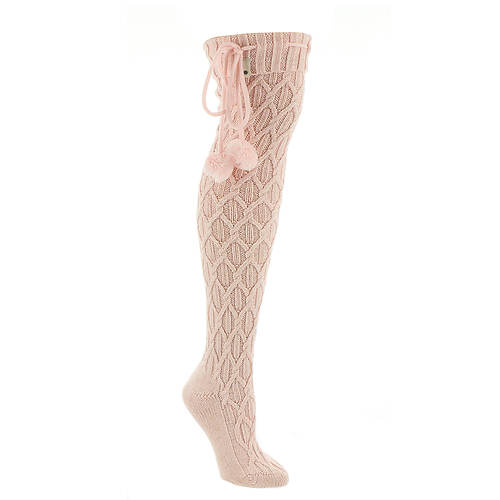 UGG® Sparkle Cable Knit Socks (Women's)