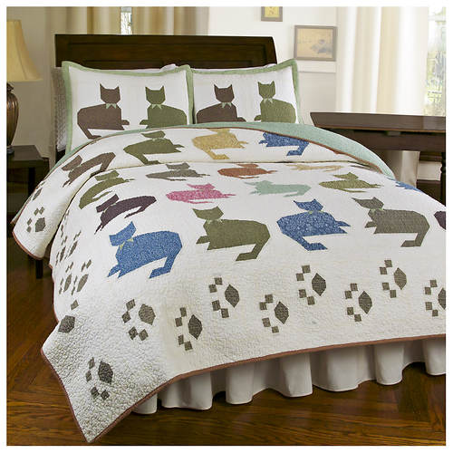 Meow Quilt Set