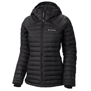 Columbia Women's Gold 750 TurboDown Hybrid Hooded Jacket