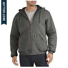 Dickies Men's Quilted Fleece Full Zip Hoody