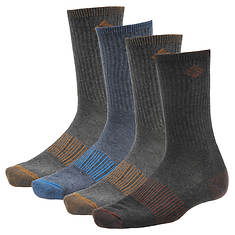 Columbia Medium-Weight Ribbed Casual Crew Socks 4-Pack (Men's)