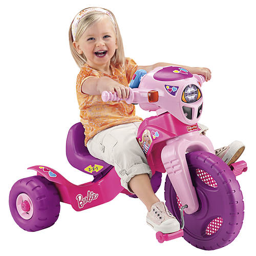 Fisher Price Barbie Lights and Sounds Trike