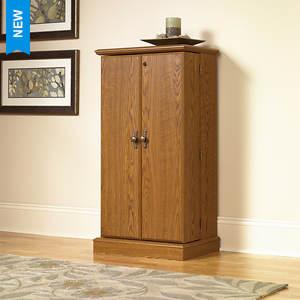 Sauder Orchard Hills Collection Multimedia Storage Cabinet