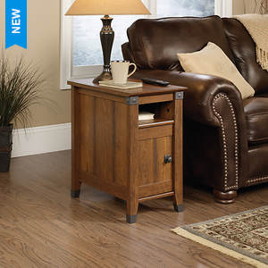 Sauder Carosn Forge Collection Side Table