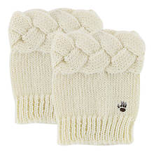 BEARPAW Cable Knit Boot Toppers (Women's)