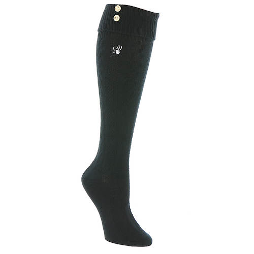 BEARPAW Women's Cuffed Knee High Socks