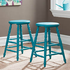 Sauder Cottage Road Collection Counter High Stools