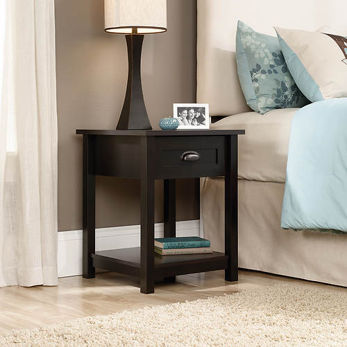 Sauder County Line Side Table Night Stand Stoneberry