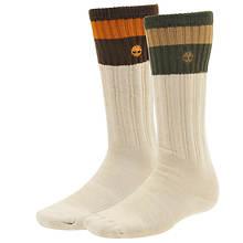Timberland TM30877 Acrylic Blend Boot Socks 2-pack (Men's)