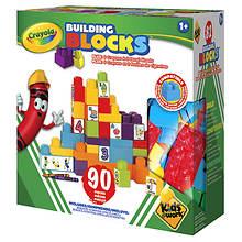 Crayola Learn-N-Play 90-Piece Building Block Set