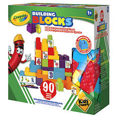 Crayola Learn-N-Play 90-Piece Building Block Set