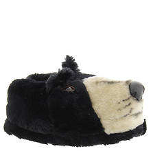 Happy Feet Black Bear Slipper (Unisex)