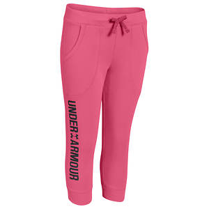 Under Armour Girls' UA Favorite Fleece Capri