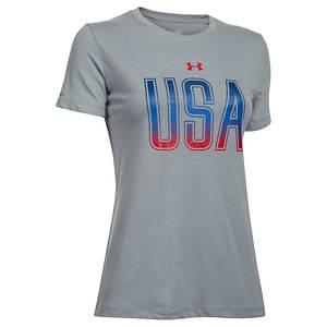 Under Armour UA USA Short Sleeve Tee