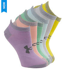 Under Armour Essential Twist No Show Socks (Women's)