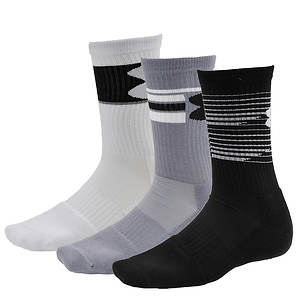 Under Armour Phenom 3-Pack Crew Socks (Men's)