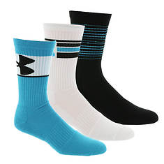 Under Armour Phenom 3-Pack Crew Socks (Men's)