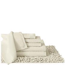 6-Piece Cotton Towel Set With Bonus Bath Mat