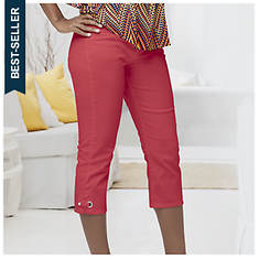 Colored Denim Capris