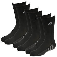adidas Boys' Graphic 6-Pack Crew Socks