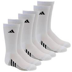adidas Boys' Graphic 6-Pack Crew Socks