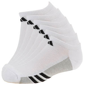adidas Boys' Graphic 6-Pack No Show Socks