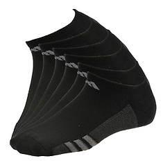 adidas Boys' Graphic 6-Pack No Show Socks