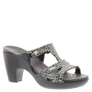 Crocs™ Cyprus V Leopard Print Heel (Women's)