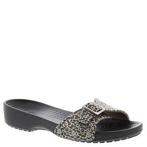 Crocs™ Sarah Leopard Sandal (Women's)
