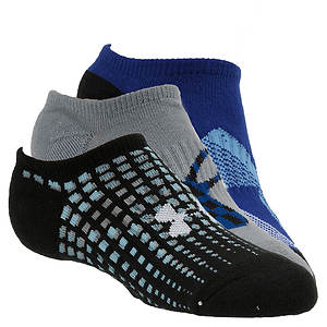 Under Armour Boys' 3-Pack Next Logo Solo Socks