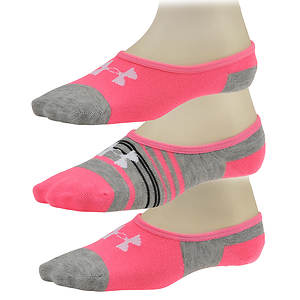 Under Armour Girls' 3-Pack Lo Lo Socks