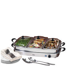 Elite 7.5-Qt. Buffet Server With Warming Tray